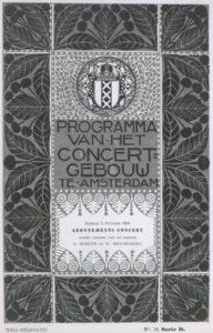 1909 Concert Amsterdam 03-10-1909 - Symphony No. 7