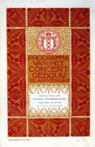 1906 Concert Amsterdam 08-03-1906 - Kindertotenlieder, Ruckert-lied, Symphony No. 5