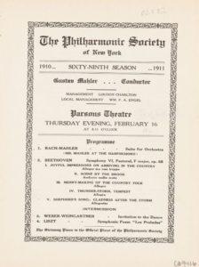 1911 Concert Hartford 16-02-1911