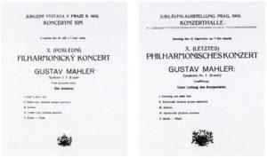 1908 Concierto Praga 19-09-1908 - Sinfonía n. ° 7 (Estreno)