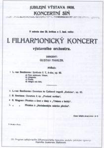 1908年コンサートプラハ23-05-1908