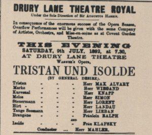 1892 Opera London 09-07-1892