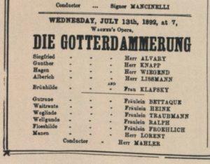 1892 Opera London 13-07-1892
