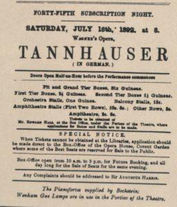 1892 Opera London 16-07-1892