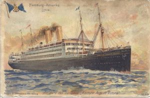 SS Kaiserin Auguste Victoria