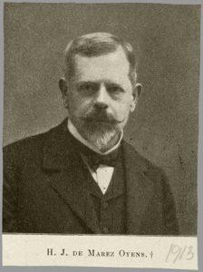 Hendrik Jan de Marez Oyens (1843-1911)