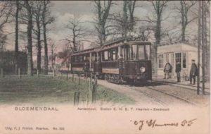 Train Haarlem - Zandvoort (Electric)