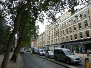 1892-1892 House Gustav Mahler London - 22 Alfred Place