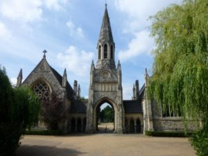 Hampstead cemetery