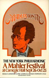 مهرجان ماهلر 1960 و 1976 و 1994 نيويورك