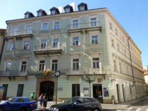 1871-1872 House Gustav Mahler Prague - Celetna No. 29 (Golden angel house)