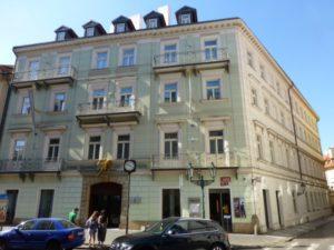 1871-1872 House Gustav Mahler Prague - Celetna No. 29 (Golden angel house)