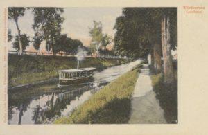 1901-1907 Route Klagenfurt to House Gustav Mahler Maiernigg