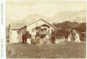 1893-1896 فندق Zum Hollengebirge