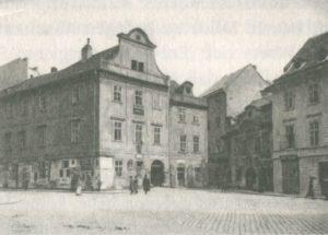 1886-1886 House Gustav Mahler Prague - Langegasse No. 18 (Blue rose house)