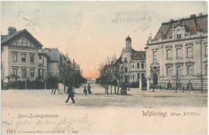 1879-1879 Maison Gustav Mahler Vienne - Karl-Ludwigstrasse n ° 24