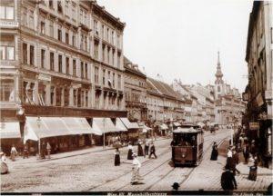 1882-1882 гг., Дом Густава Малера, Вена - Марияхильферштрассе № 13