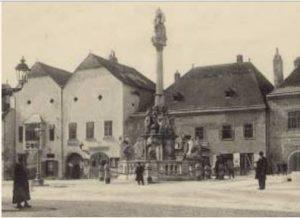 1884-1884 منزل غوستاف مالر بيرشتولدسدورف - Marktplatz رقم 8 (أول مرة)
