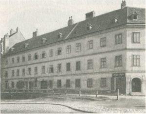 1883-1883 House Gustav Mahler Vienne - Technikerstrasse n ° 9