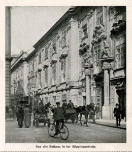 1882-1883 House Gustav Mahler Vienne - Wipplingerstrasse 12 n ° 2