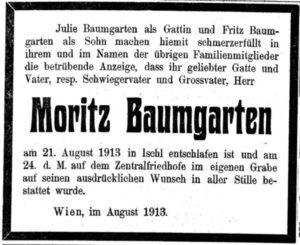 Moritz Baumgarten (1826-1913)