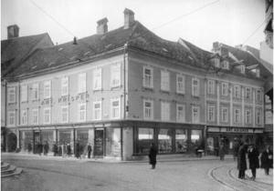 1881-1882 House Gustav Mahler Ljubljana - Mestni Trg No. 26