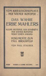 Paul Stauber (1876-1918)