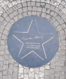 Gustav Mahler Star Prague