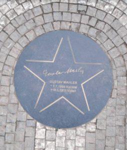 Gustav Mahler Star Prague