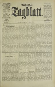 Mahrisches Tagblatt