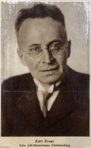 Karl Kraus (1874-1936)