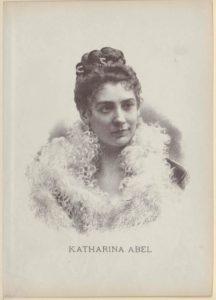 Katharina Abel (1856-1904)