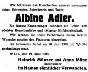 Albine Adler (1870-1927)