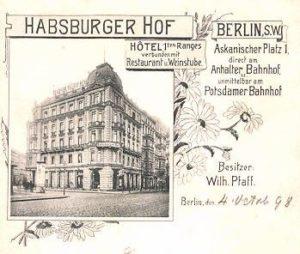 1895 Hotel Habsburger Hof