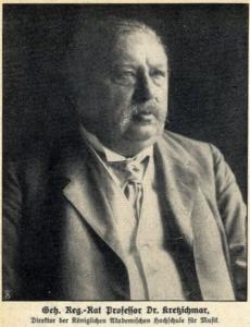 Hermann Kretzschmar (1848-1924)