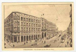 1905 Hotel de la Ville de Paris