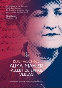 Alma Mahler y Allert de Lange